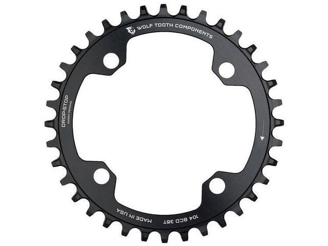 Wolf Tooth Plato Ø104mm BCD, negro